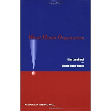 World Health Organization, Used Book (9789041122735)