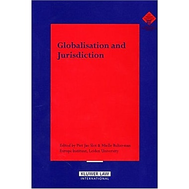 Globalisation Amp Jurisdiction, Used Book (9789041123077)