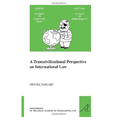 A Transcivilizational Perspective On International Law Pocketbooks Of The Hague Academy Of Internation, New Book (9789004186897)