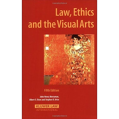 Law Ethics And The Visual Arts, New Book (9789041125170)