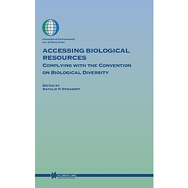 Accessing Biological Resources Complying With The Convention On Biological Diversity International Env, New Book (9789041120878)