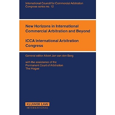 New Horizons For International Commercial Arbitration And Beyond Icca Congress Series Set, New Book (9789041123480)