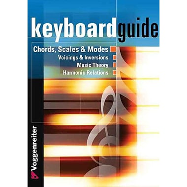 Keyboard Guide Chords Scales Amp Modes In All Keys, New Book (9783802403408)