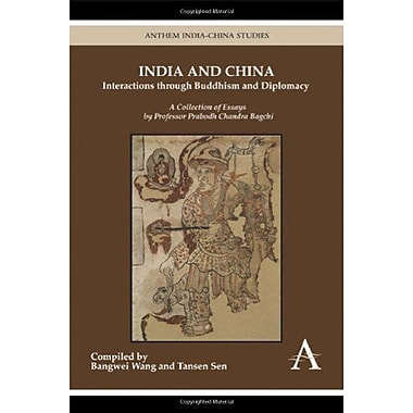 India And China Interactions Through Buddhism And Diplomacy A Collection Of Essays By Professor Prabod, New Book (9789380601175)