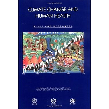 Climate Change And Human Health Risks And Responses, New Book (9789241562485)