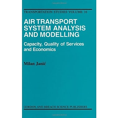 Air Transport System Analysis And Modelling Transportation Studies Abi, New Book (9789056992446)