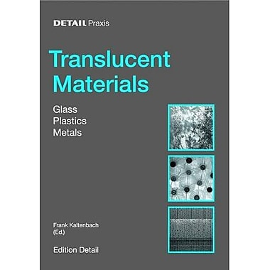 Detail Practice Translucent Material Glass Plastic Metal, New Book (9783764370336)
