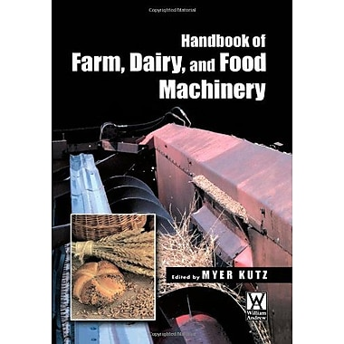 Handbook Of Farm Dairy And Food Machinery, New Book (9789048174744)