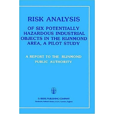 Risk Analysis Of Six Potentially Hazardous Industrial Objects In The Rijnmond Area A Pilot Study, New Book (9789027713933)
