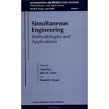 Simultaneous Engineering Methodologies And Applications Dgeb Publication, New Book (9789056996604)
