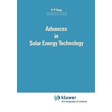 Advances In Solar Energy Technology Volume 1 Collection And Storage Systems, New Book (9789048184347)