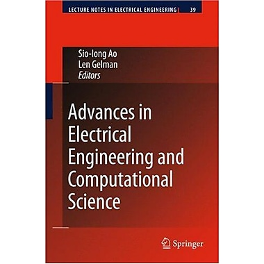 Advances In Electrical Engineering And Computational Science Lecture Notes In Electrical Engineering, New Book (9789048123100)