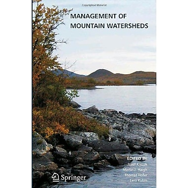 Management Of Mountain Watersheds, New Book (9789400724754)