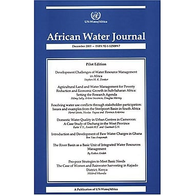 African Water Journal, New Book (9789211250893)