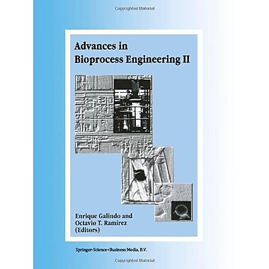 Advances In Bioprocess Engineering Volume Ii, New Book (9789048149872)