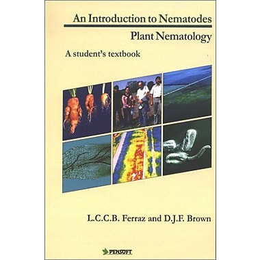 An Introduction To Nematodes Plant Nematology Pensoft Series Parasitologica 3, New Book (9789546421555)
