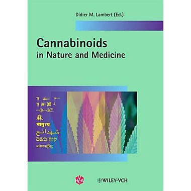Cannabinoids In Nature And Medicine, New Book (9783906390567)