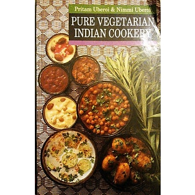 Pure Vegetarian Indian Cookery, New Book (9788120713277)