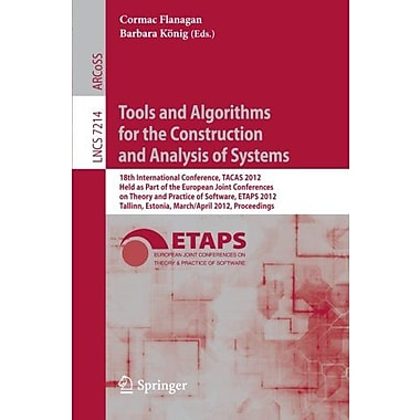 Tools And Algorithms For The Construction And Analysis Of Systems 18Th International Conference, New Book (9783642287558)