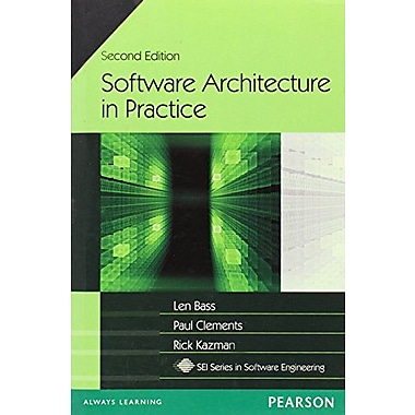 Software Architecture In Practice, New Book (9788177589962)