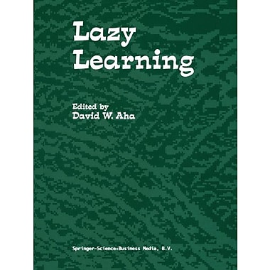 Lazy Learning, New Book (9789048148608)