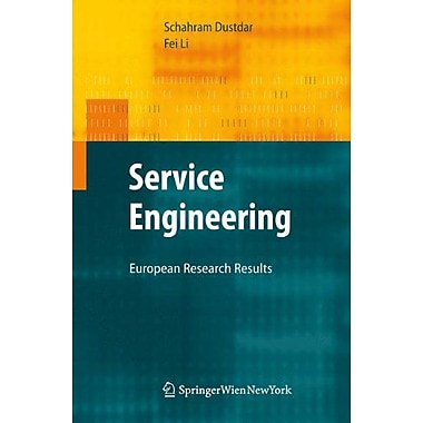 Service Engineering European Research Results, New Book (9783709104149)
