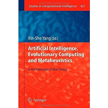 Artificial Intelligence Evolutionary Computing And Metaheuristics In The Footsteps Of Alan Turing Stud, New Book (9783642296932)
