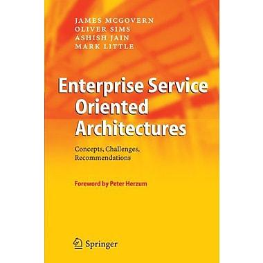 Enterprise Service Oriented Architectures Concepts Challenges Recommendations The Enterprise Series, New Book (9789048169351)