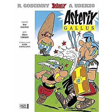 Asterix Gallus Asterix Latin German Edition, New Book (9783770400515)