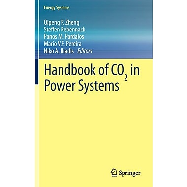 Handbook Of Co In Power Systems Energy Systems, New Book (9783642274305)