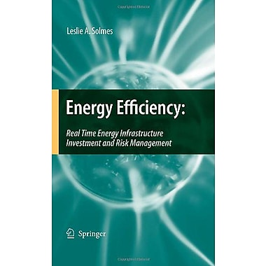 Energy Efficiency Real Time Energy Infrastructure Investment And Risk Management, New Book (9789048133208)
