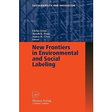 New Frontiers In Environmental And Social Labeling Sustainability And Innovation, New Book (9783790817553)