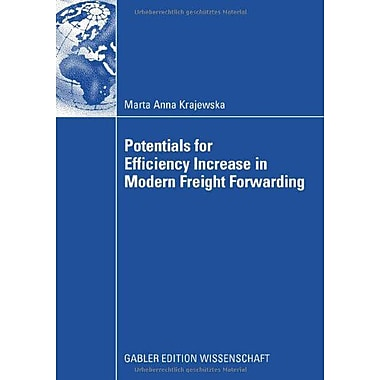 Potentials For Efficiency Increase In Modern Freight Forwarding, New Book (9783834908322)