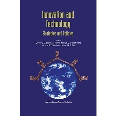 Innovation And Technology Strategies And Policies, New Book (9789048148042)