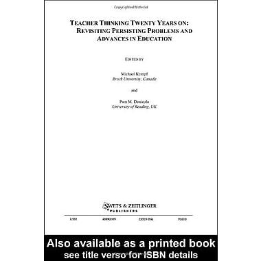 Teacher Thinking Twenty Years On, New Book (9789026519543)