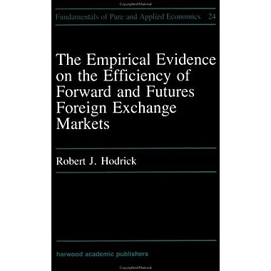 Empirical Evidence On The Efficiency Of Forward And Futures Foreign Exchange Markets Fundamentals Of P, New Book (9783718604159)