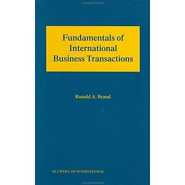 Fundamental International Business Transactions, New Book (9789041196323)