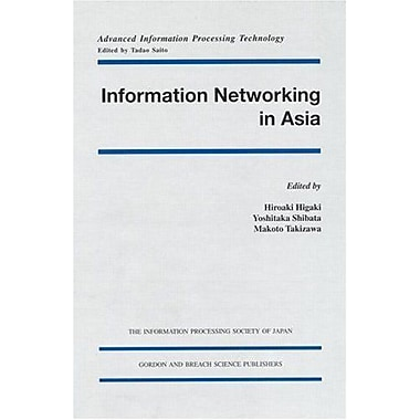 Information Networking In Asia Advanced Information Processing Technology, New Book (9789056993061)