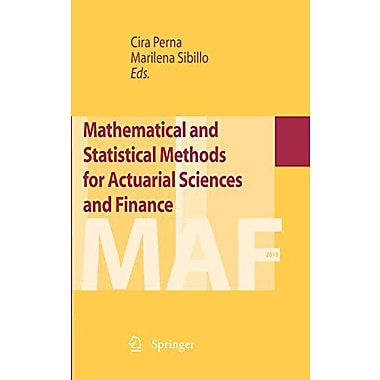 Mathematical And Statistical Methods For Actuarial Sciences And Finance, New Book (9788847023413)