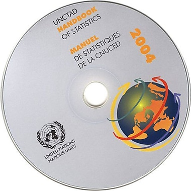 Unctad Handbook Of Statistics 2004 Multilingual Edition, New Book (9789210120579)