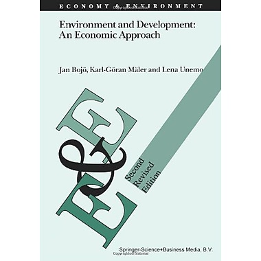 Environment And Development An Economic Approach Economy Amp Environment, New Book (9789048141814)