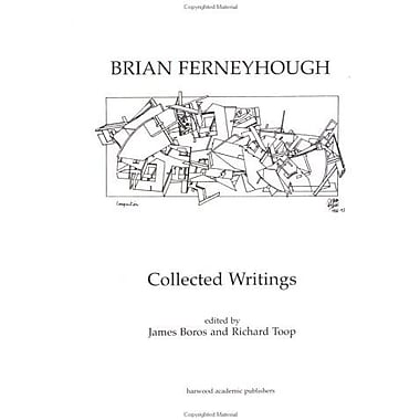Brian Ferneyhough Collected Writings Contemporary Music Studies, New Book (9783718655762)