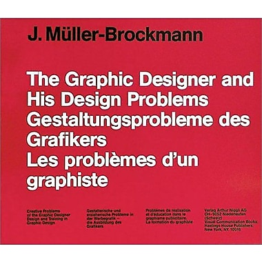 The Graphic Designers And His Design Problems, New Book (9783721200270)