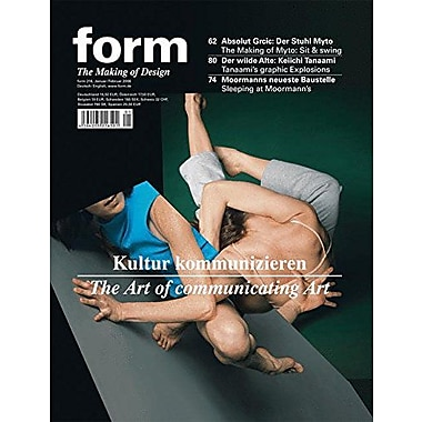 Form 218 Zeitschrift Form German And English Edition, New Book (9783764384760)