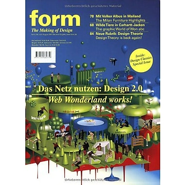 Form 215 Zeitschrift Form German And English Edition, New Book (9783764384739)