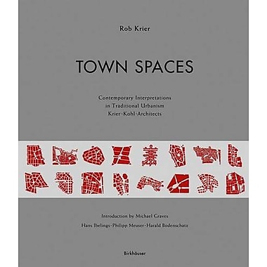 Town Spaces, New Book (9783764369422)