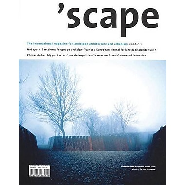 Scape The International Magazine Of Landscape Architecture And Urbanism V 1, New Book (9783764375119)