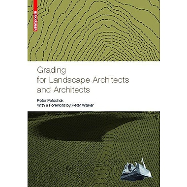 Grading For Landscape Architects And Architects, New Book (9783764385026)