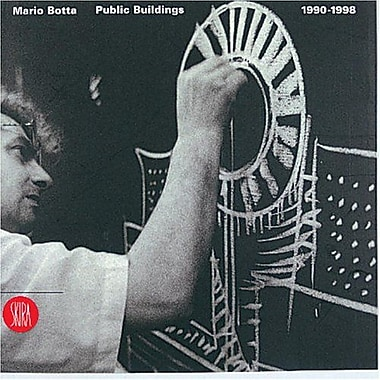 Mario Botta Public Buildings 1990-1998, New Book (9788881183210)
