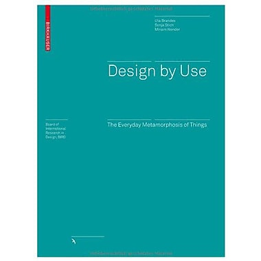Design By Use Board Of International Research In Design, New Book (9783764388676)